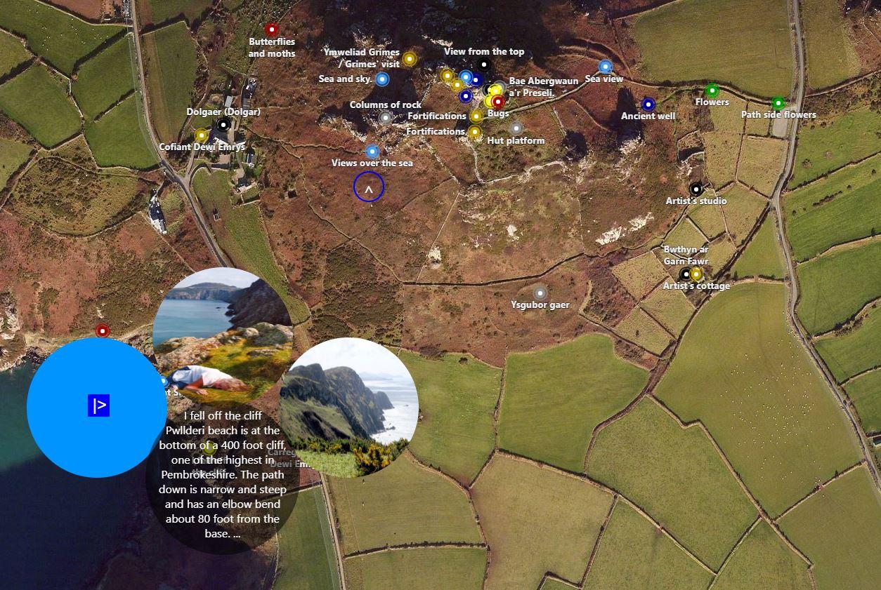 The Span Deep Map